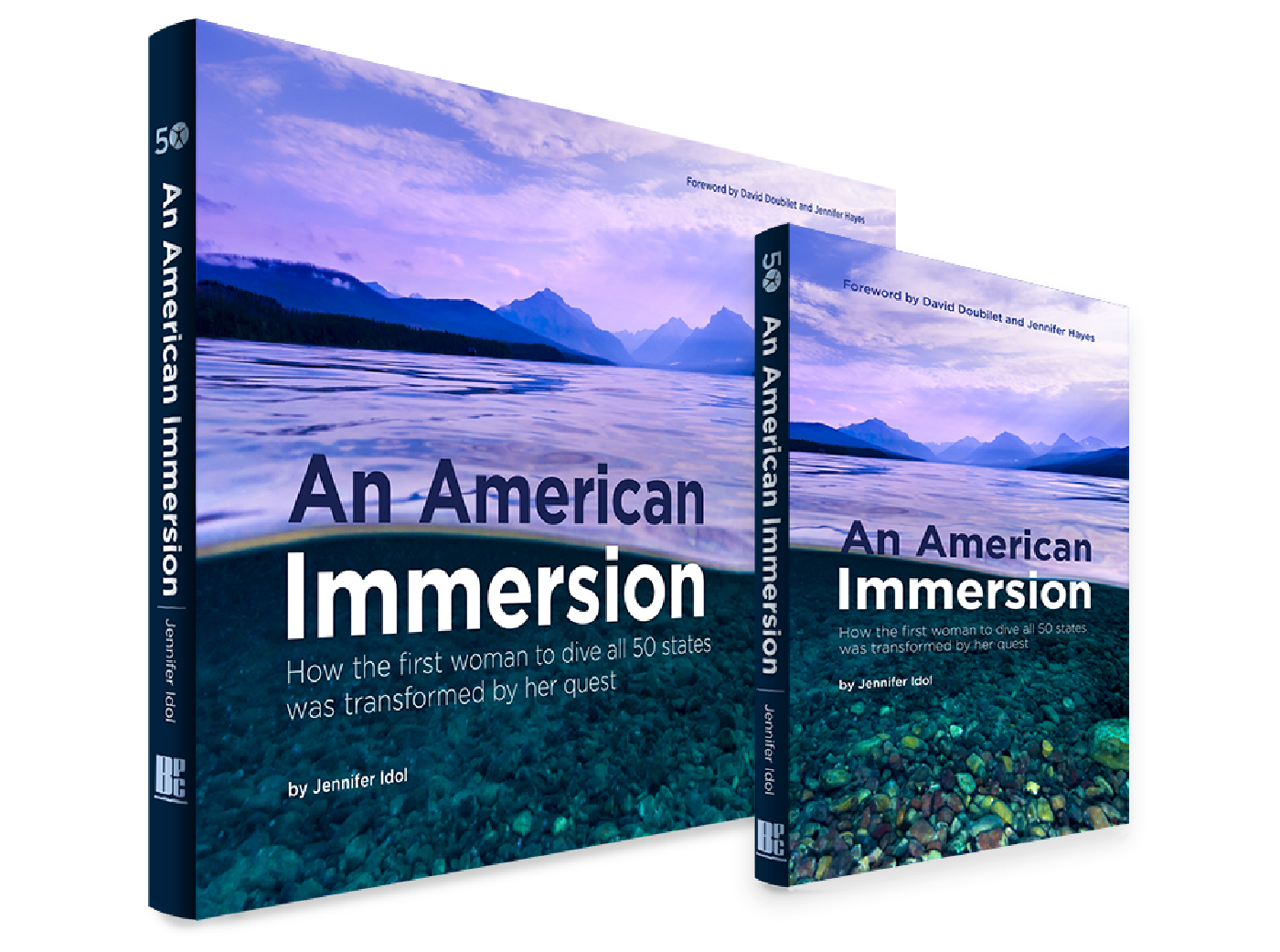 Softcover and Hardcover versions of An American Immersion